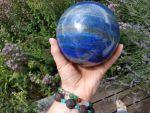Lapis Lazuli Koule/Sphere Velky/Big one 13cm/5 inch