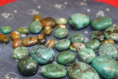Turquoise stone original from Tibet,small,3g