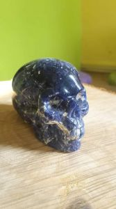 Sodalite Lebka,Realistic ,maly,small one