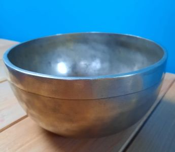 Singing Bowl,Extra,Big one, 20cm - ,plane