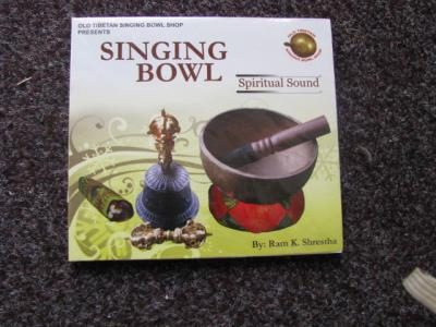 New Singing Bowl Spiritual Sound - Ram K.Shrestha - Vol.1-