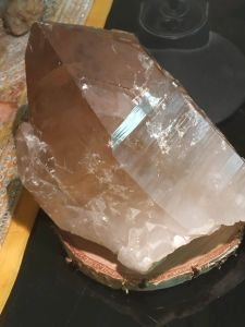 Přirodni,Natural Citrine Quartz ,Extra Velky/Big one 20cm